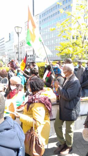 Togo : Des Togolais manifestent à Bruxelles contre Faure Gnassingbé