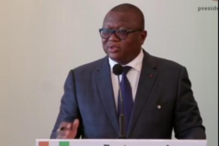 Amadou Coulibaly dit Am's, a évoqué  la question du retour en Côte d'Ivoire de Laurent Gbagbo