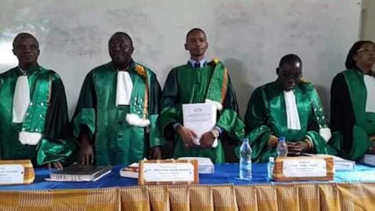 Thèse de Doctorat d'un étudiant sur l'Art oratoire de Blé Goudé