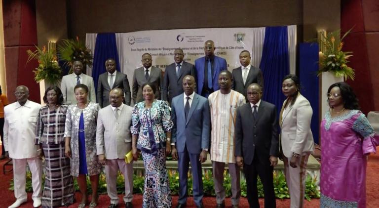 Ouverture à Abidjan des 37e et 38e sessions jumelées du Conseil des ministres du CAMES