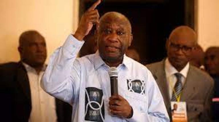 Laurent Gbagbo; l'ancien chef de l' Etat ivoirien est sorti de son silence