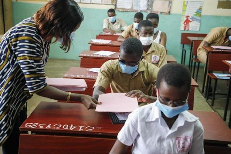 Mariatou Koné, ministre de l'Éducation nationale et de l'Alphabétisation