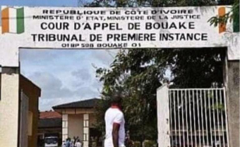 Le Tribunal de Bouaké, théâtre d'un braquage à magistrat suivi de l'évasion d'un prisonnier