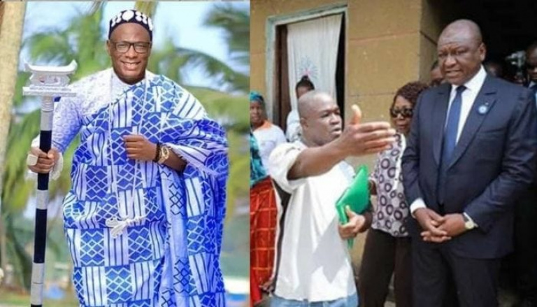 Lassina Ouattara dit Lass PR offre un véhicule flambant neuf au président des jeunes d' Abobo