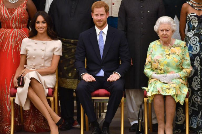 Lilibet Diana présentée à la reine