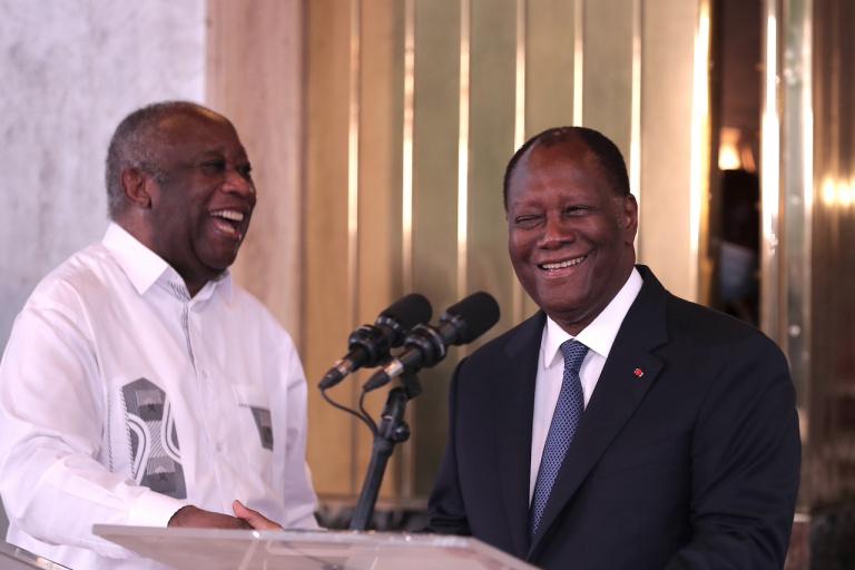 Rencontre Ouattara - Laurent Gbagbo : « La paix des braves » », selon les Ivoiriens