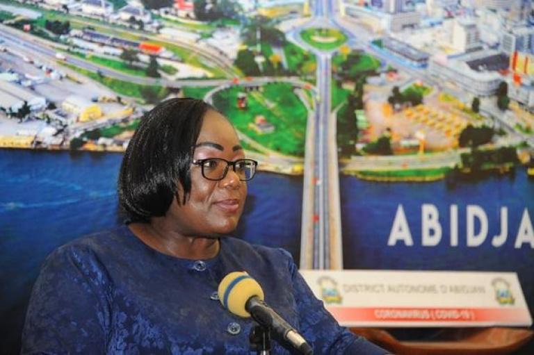 Anne Ouloto, cadre du RHDP et ministre exhorte les populations wê à l' Union et à la Cohésion