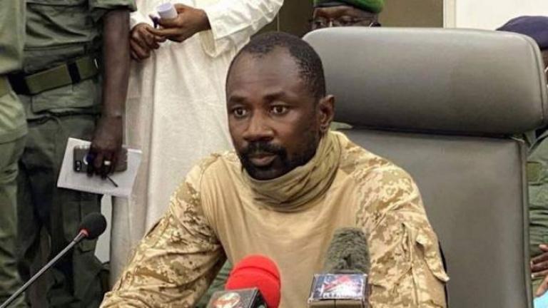 Assimi Goïta au peuple malien : « Je vais très bien »