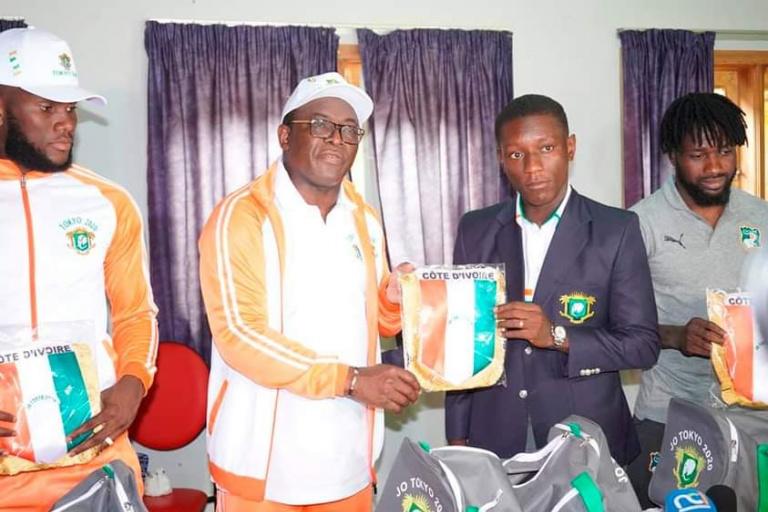 Le ministre ivoirien des Sports et de l'économie sportive, Claude Danho Paulin