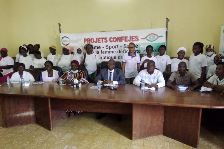Sports pour malvoyants et aveugles: Le projet ''Sport inclusif '' officiellement lancé