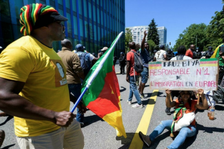 Cameroun : Une manifestation anti-Biya dégénère à Genève