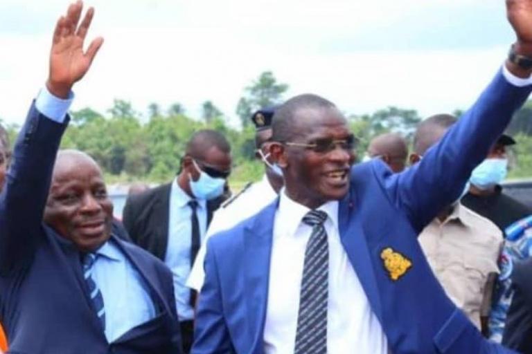 Ministre, Gouverneur du district autonome des Montagnes, Albert Flindé