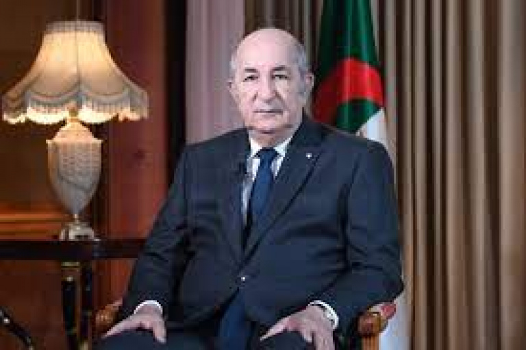 Le président Abdelmadjid Tebboune: