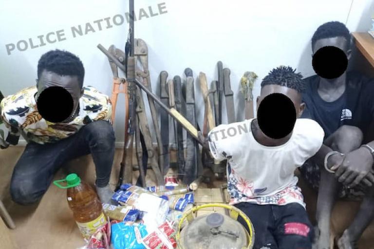 Yamoussoukro : La police démantèle le gang d'un adolescent de 16 ans