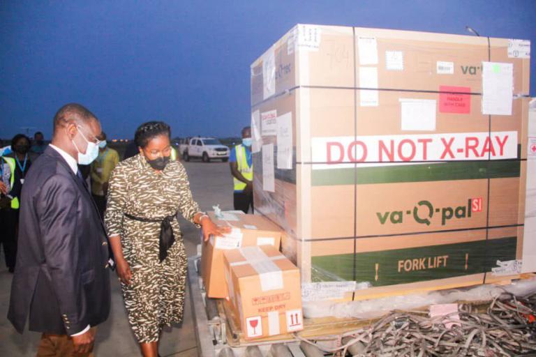 Togo : Le pays reçoit un lot de vaccin Johnson and Johnson