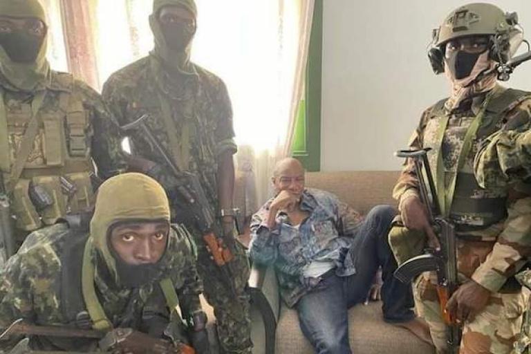 Chute d'Alpha Condé : Colonel Mamady Doumbouya, le nouvel homme fort de Conakry