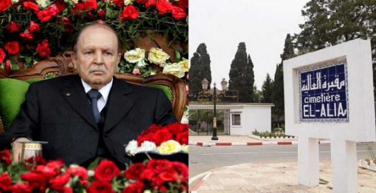 L'ex-président Abdelaziz Bouteflika inhumé avec moins d'honneurs que ses prédécesseurs