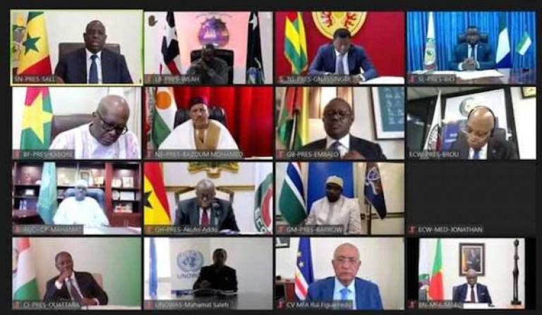 Sommet extraordinaire de la CEDEAO sur la crise en Guinée