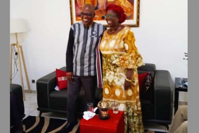 Les dessous de la rencontre entre Issa Malick Coulibaly et Juliette Kongo