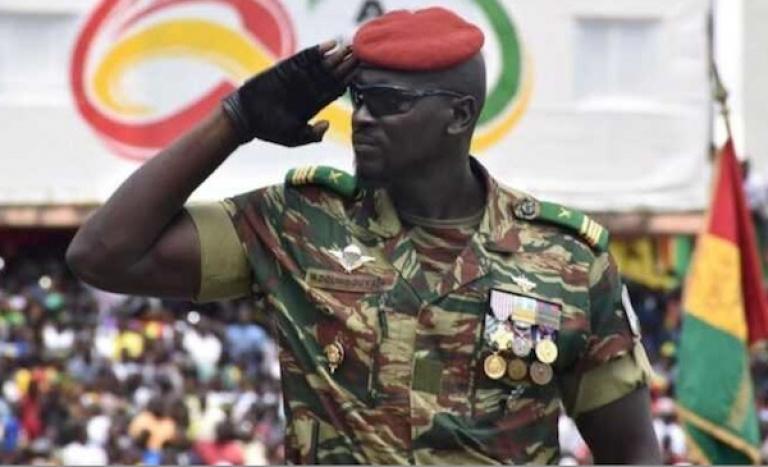 Investiture: Mamadi Doumbouya devient officiellement président de la Guinée