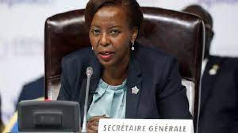 Coup d' Etat en Afrique : Louise Mushikiwabo, SG OIF tape du poing sur la table