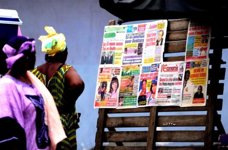 Laurent Gbagbo et la route de la côtière au cœur de la titrologie de ce lundi