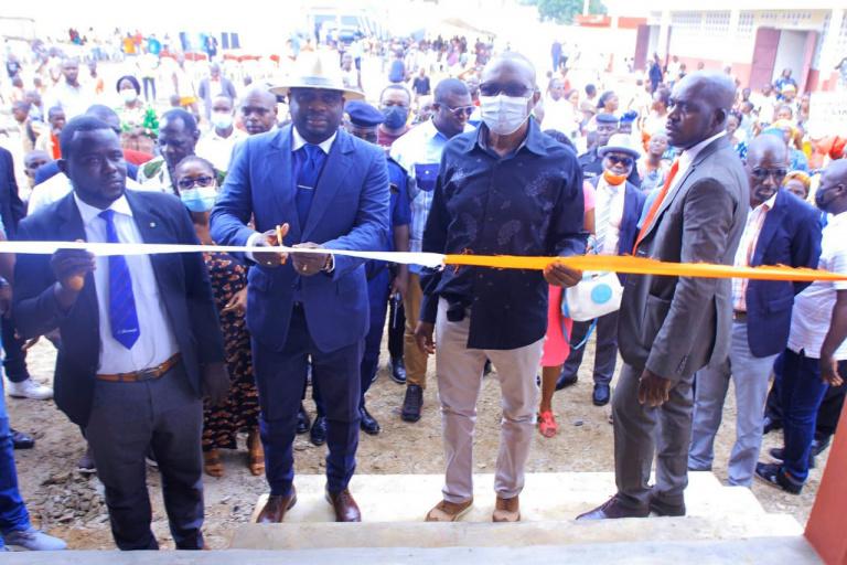 Bingerville : L'école primaire du quartier de N'gbromin a été inauguré