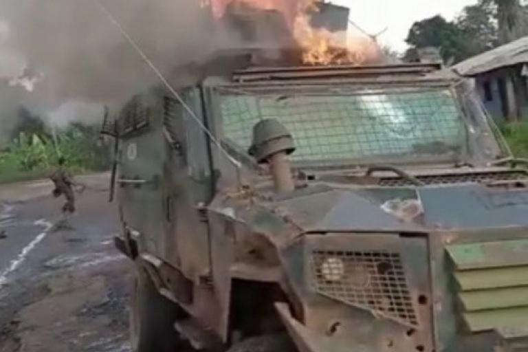 Les combattants séparatistes frappent l'armée du Cameroun