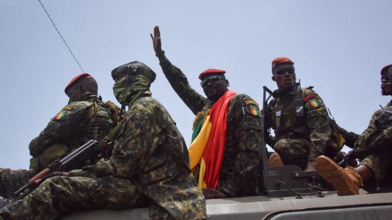 La Plate-forme Efforts de Paix dirigée par Hamed Savadogo dit condamner le coup d'Etat intervenu en Guinée