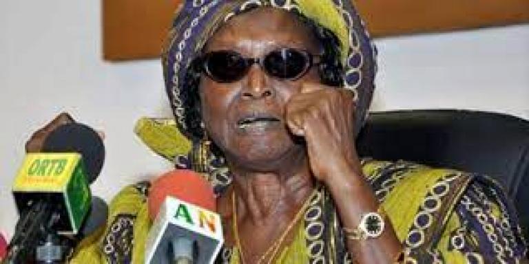 Bénin: La dépouille de Rosine Soglo incinérée au Ghana