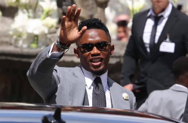 Samuel Eto'o annonce sa candidature à la présidence de la FECAFOOT