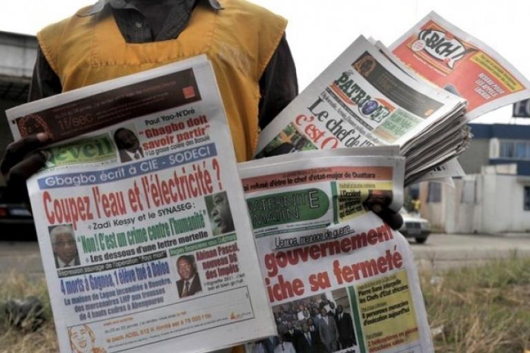 La création du mouvement politique de Simone Gbagbo au coeur de la titrologie de ce lundi