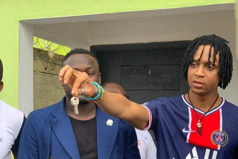 Safarel Obiang respecte une promesse faite à ses danseurs
