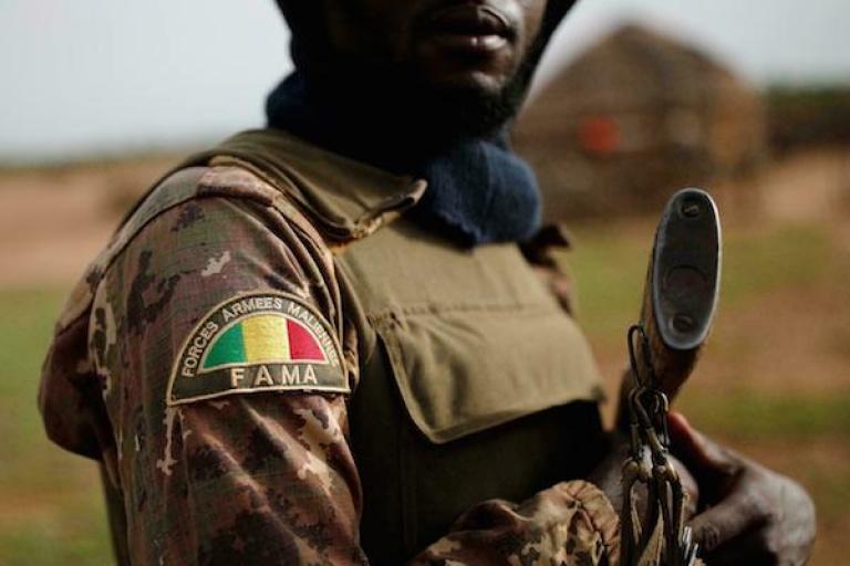 « Des sanctions disciplinaires ont été prises » contre l'armée malienne