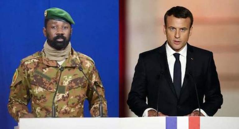 Mali : Relations électriques entre Macron et Goita