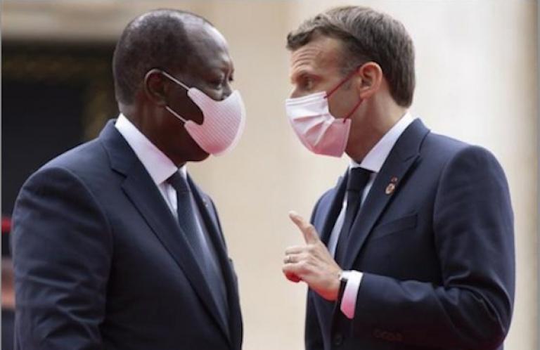 Voici les sujets qu'Alassane Ouattara et Macron ont abordé à l'Elysée
