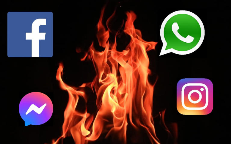 Bug Facebook, Twitter, sur Signal