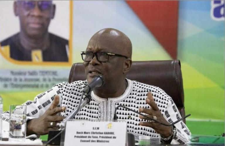 Roch Kaboré exhorte la jeunesse à un « engagement patriotique »