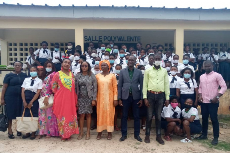 Des élèves du CET d' Agboville sensibilisés sur la santé sexuelle et reproductive