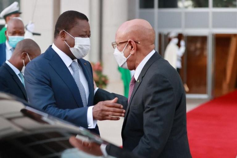Togo : Faure Gnassingbé et El Ghazouani parlent de sécurité au Sahel