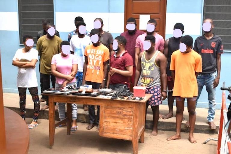Togo : Un réseau de cybercriminels démantelé par la police