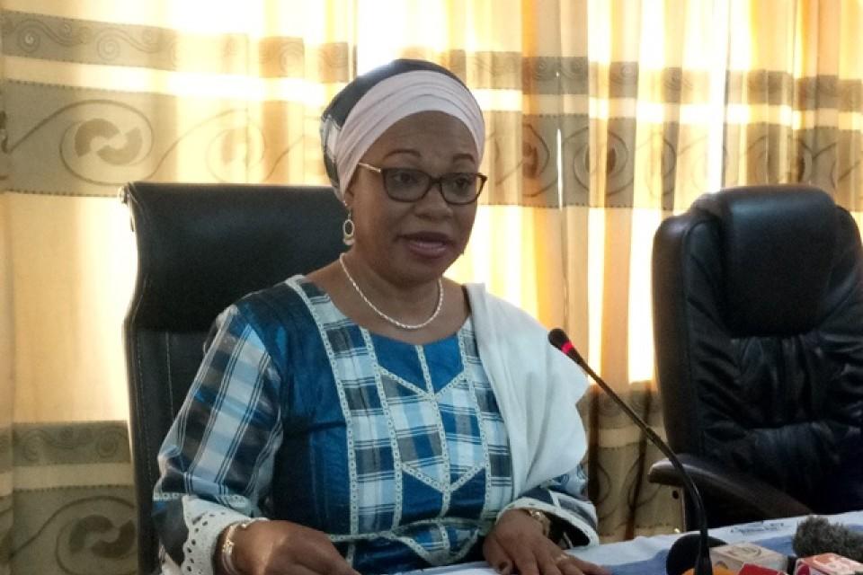 Le projet des personnes handicapees escomptés par le gouvernement Burkinabè, a annonce Laurence Ilboudo