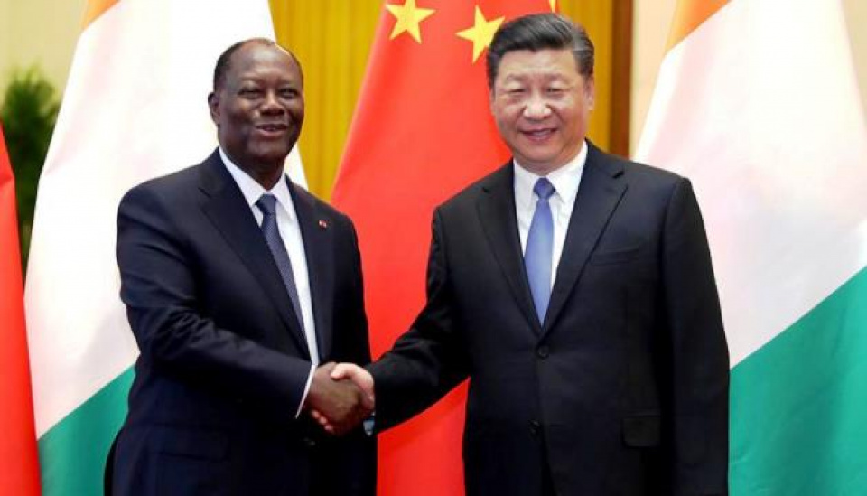 Alassane Ouattara et Xi Jinping, un partenariat naissant