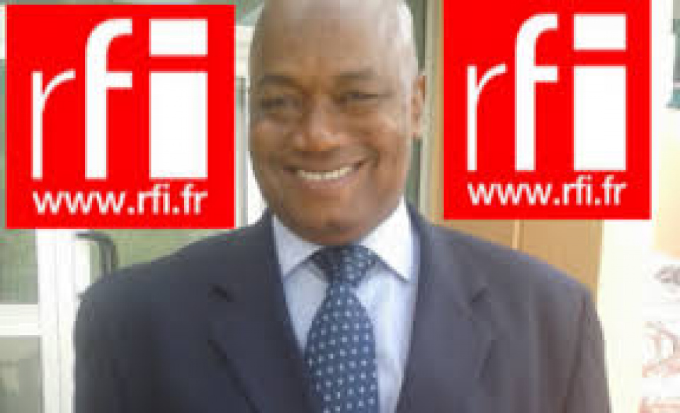 Mouctar Bah correspondant de RFI