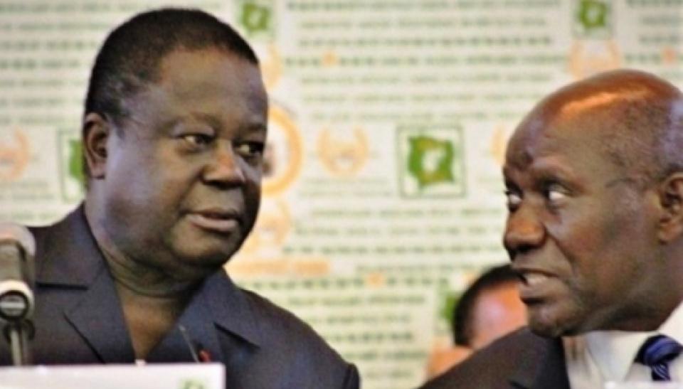 Le RHDP unifié désunit Konan Bédié et Kablan Duncan