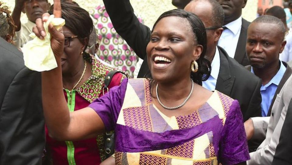 Simone Gbagbo appelle à des élections sans violence