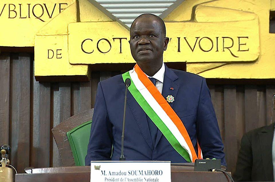 Parlement : Réélu Président, la santé d'Amadou Soumahoro inquiète