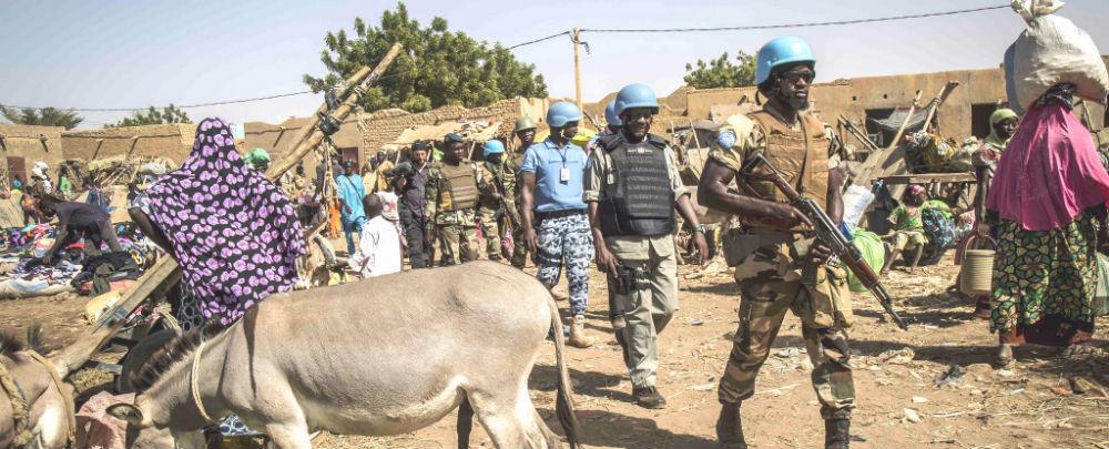 Mali: La Minusma frappe fort après la mort de 4 Casques bleus tchadiens